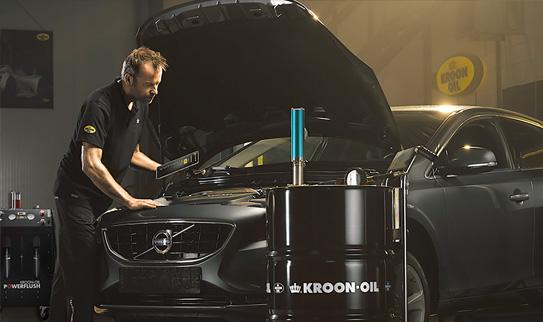 kroon motor olie vervangen