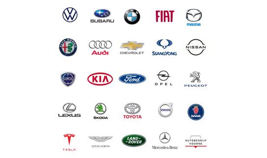 logo alle automerken